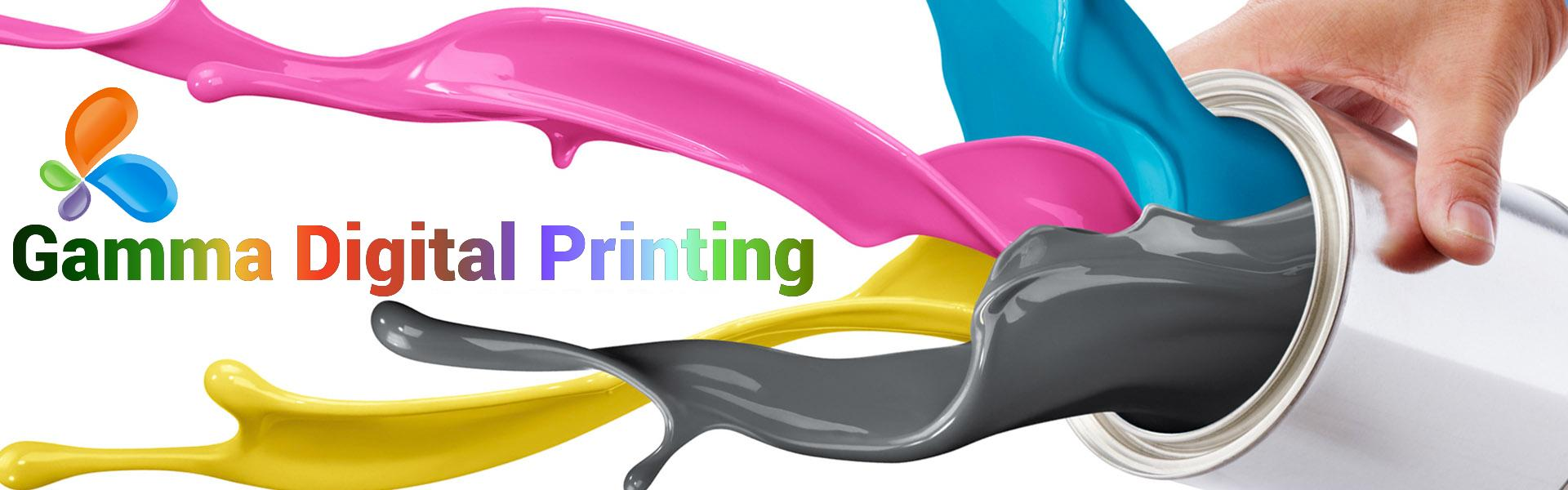 Gamma digital printing